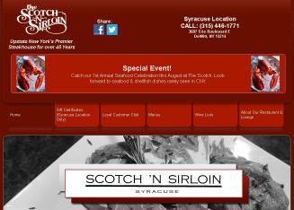 Scotch+%27n+Sirloin Website