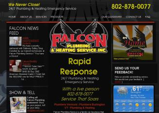 Falcon+Plumbing+Service+Inc Website