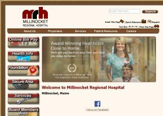 Millinocket+Regional+Hospital Website