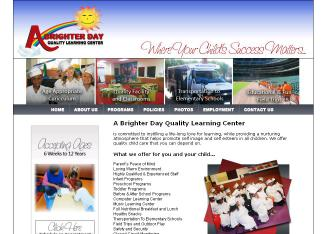 A+Brighter+Day+Quality+Learning+Center Website