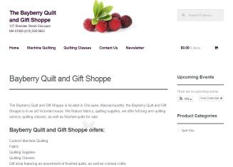 Bayberry+Quilt+%26+Gift+Shoppe Website