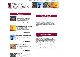 Petroleum+Resources+Inc Website