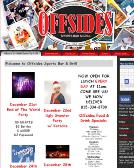 Offsides+Sports+Bar+%26+Grill Website