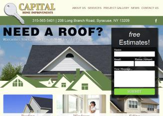 Capital+Home+Improvements Website