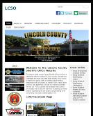 Lincoln+County+Sheriff%27s+Ofc Website