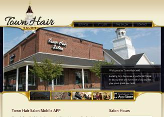 Town+Hair+Salon Website