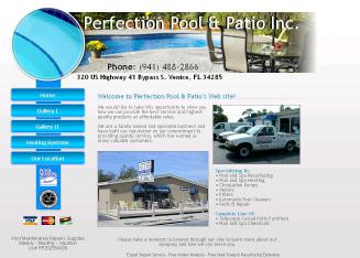 Perfection+Pool+and+Patio+Inc Website
