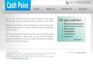 Cash+Point Website