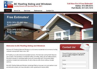 B C Roofing Siding & Windows
