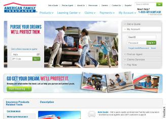 American+Family+Insurance Website