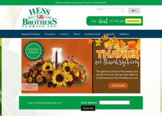Hess+Brothers+Florists Website