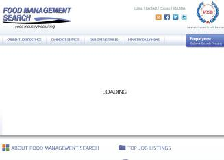 Food+Management+Search Website