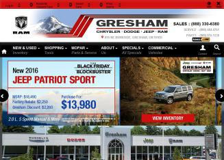 Gresham+Dodge+Inc. Website