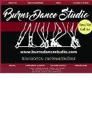 Burns+Dance+Studio Website