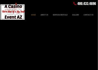 A+Casino+Event+Casino+Party+Planning+%26+Rentals Website
