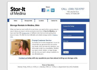 Stor-It+Of+Medina Website