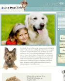 Cat+%26+Dog+Clinic Website