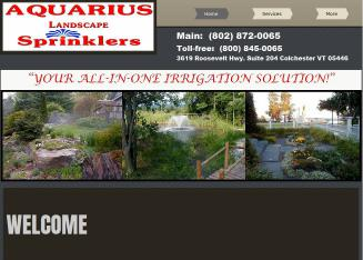 Aquarius Landscape Sprinklers Inc in Colchester, VT | 3619 ...
