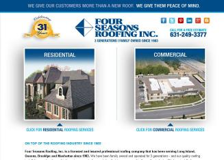 Four+Seasons+Roofing+Inc Website
