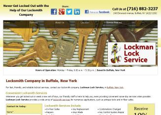 Lockman+Lock+Service+-+Buffalo+OFC Website