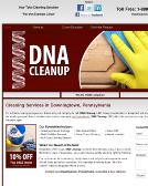 DNA+Cleanup Website