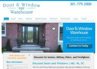 Door+Warehouse Website