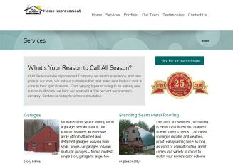 ALL+Seasons+Home+Improvements Website