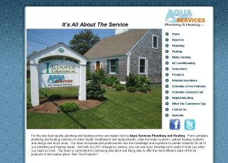 Aqua+Services+Plumbing+%26+Heating Website