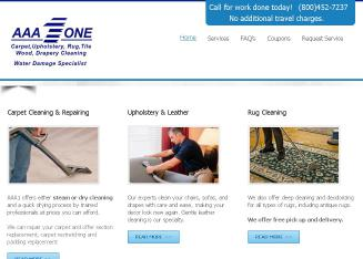 AAA+1+Carpet+%26+Upholstery+Care Website