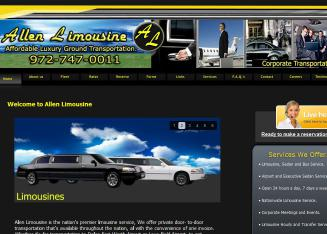 Allen+Limousine+%26+Bus+Service Website