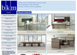 bkm office furniture in commerce, ca | 6959 bandini blvd, commerce, ca