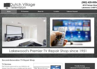 Dutch+Village+Television Website