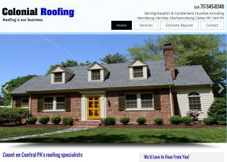 Colonial++Roofing+Co Website