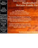 mcguire family furniture makers