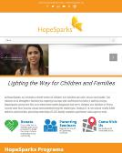 Hope+Sparks Website