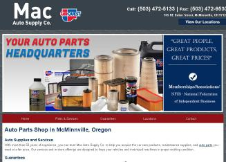 Mac+Auto+SUPPLY+CO Website