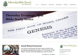 Fellowship+Bible+Church Website