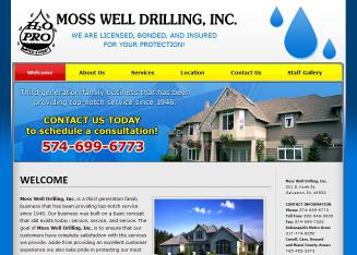 Moss Well Drilling In Galveston In 201 E North St