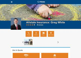 Allstate+Insurance+Company+-+Greg+White Website