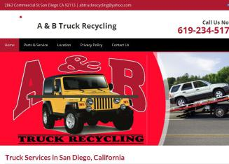 A+%26+B+Truck+Recycling Website