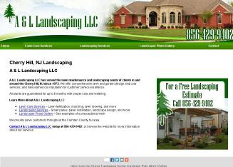 A%26L+Landscaping+Inc+LLC Website