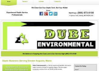 Dube+Environmental Website