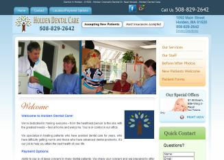 Holden+Dental+Care+-+Neal+Novack+DDS Website