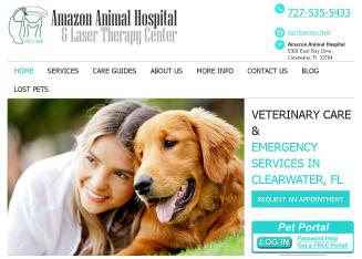 Amazon+Animal+Hospital+%26+Laser+Therapy+Center Website
