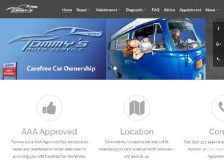 Tommy%27s+Auto+Services Website
