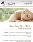 New+Day+Spa+Salon Website