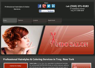 ANDO+Inc Website