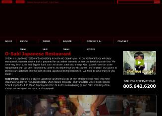 O-Sabi+Japanese+Restaurant Website