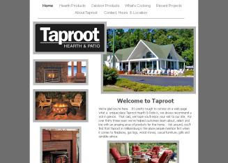 Taproot+Hearth+%26+Patio Website