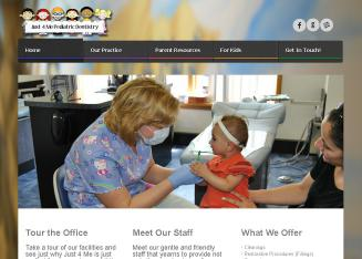 Just+4+Me+Pediatric+Dentistry Website